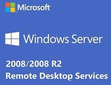 MS Windows Server 2008 RDS TS-Remotedesktopdienste: 5 CALS-Lizenzen - Terminaldienste - HP (Physical License Pack)