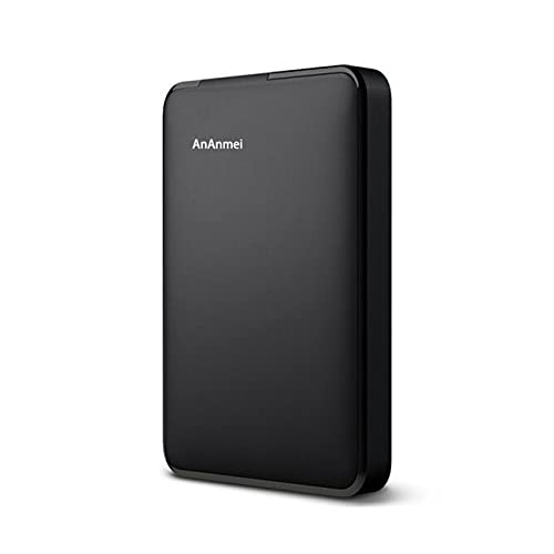 AnAnmei Disco Duro Externo, Disco Duro móvil de 2.5 Pulgadas, USB 3.0 Transmisión de Alta Velocidad, Adecuada for computadoras portátiles, PC y Mac (A: 1TB) (Size : A)