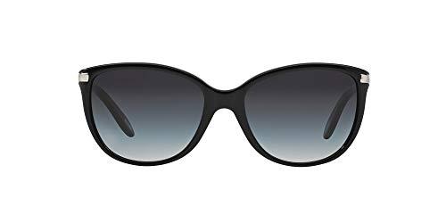 Óculos de Sol Ralph by Ralph Lauren RA5160 50111 Preto Lente Cinza Degradê Tam 57