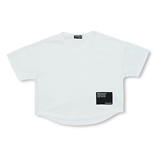 BABYDOLL ベビードール 子供服 クール 速乾 ドライTシャツ キッズ ユニセックス 130cm ホワイト 5194K
