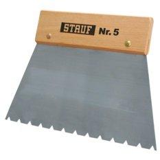 Stauf ® Zahnspachtel 5 - Spachtel zum Verkleben von Bodenbelägen