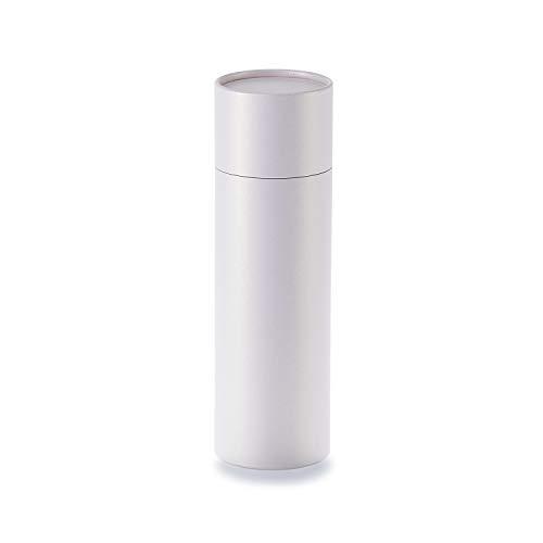 betubed runde Pappdose Papierdose Geschenkverpackung, Farbe: rosé gold Durchmesser 66mm, Höhe 215mm, plastikfrei und nachhaltig.