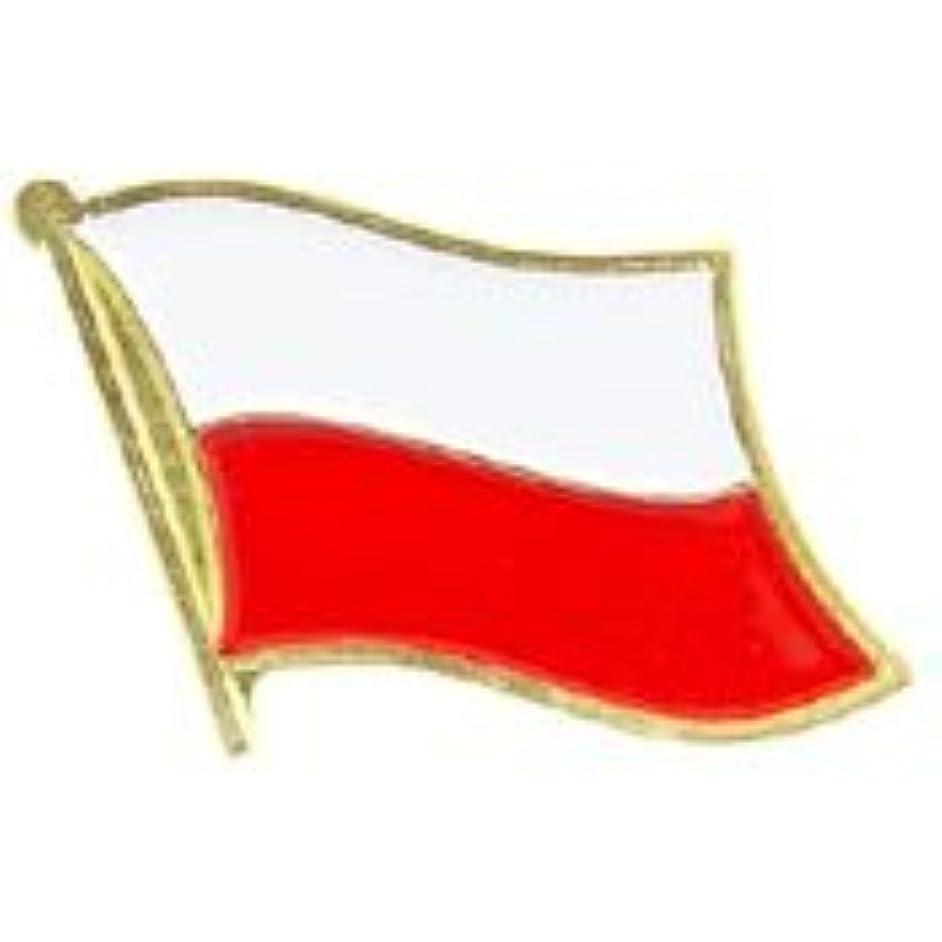 EagleEmblems P09589 PIN-Poland (Flag) (1'')