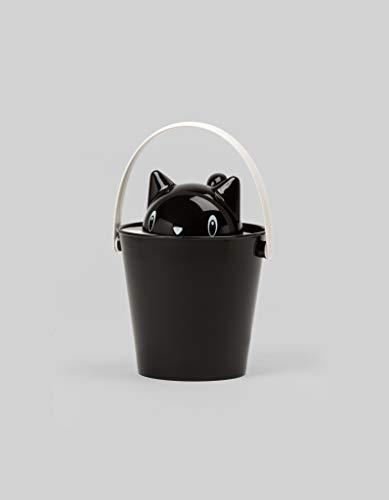 United Pets SG0101NE Behälter für Katzenfutter - Crick, schwarz