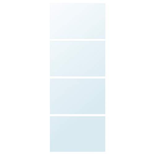 AULI 4 paneler för skjutdörr 75 x 201 cm spegelglas