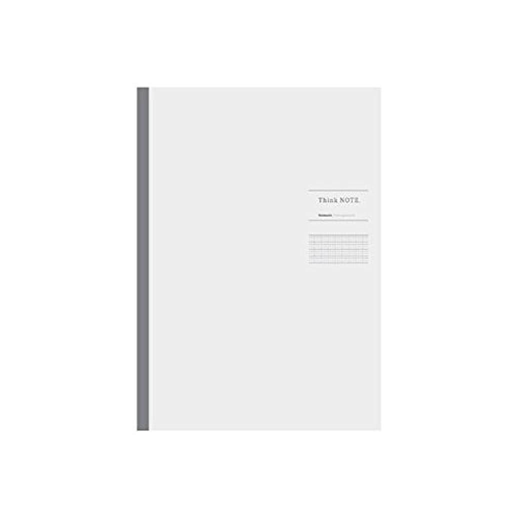 (業務用セット)ナカバヤシ ロジカル シンクノート 糸綴じノート A4 /ロジカルA罫 ホワイト グレー罫 ノ-A406A-WN【×10セット】 生活用品 インテリア 雑貨 文具 オフィス用品 ノート 紙製品 ノート レポート紙 14067381 [並行輸入品]