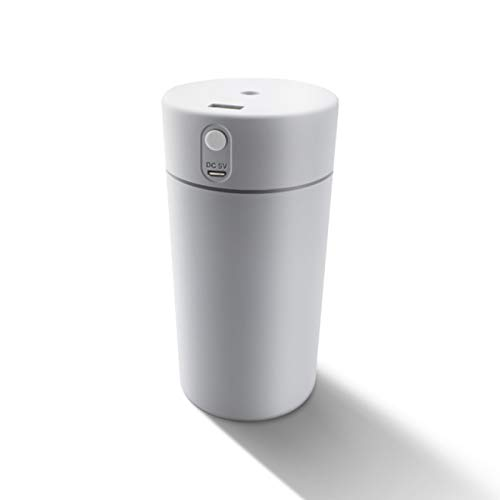 YYZZ Difusor de Aroma, 250ml 400ml Humidificador de Aire Ambientador Coche Vehículo USB Difusor de Aroma ultrasónico Niebla Fresca