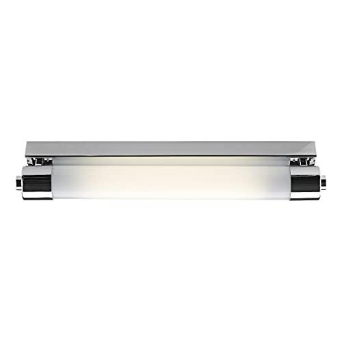 DAR PERKINS - Cuarto de baño sobre luces de espejo Luz de tira pequeña Aplique de pared IP44 Lámpara completa con bombilla