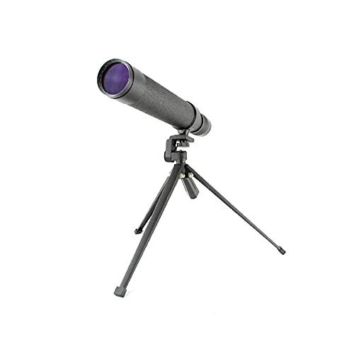 FHISD Telescopio monocular 8-24x40, telescopio monocular con Zoom portátil de Alta Potencia Compacto con visión Nocturna BAK4 Prism FMC Lente monocular con Adaptador para teléf