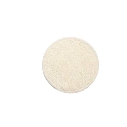 AtheMeet 10 unids Maquillaje removedor de Almohadillas de algodón de algodón de algodón de algodón de bambú orgánico Rondas de algodón para toallitas faciales