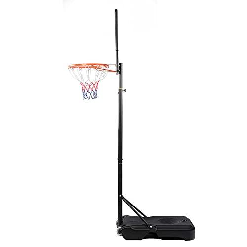 Soporte de Baloncesto portátil Soporte de Baloncesto portátil para niños, Soporte móvil de Baloncesto móvil, Soporte de Baloncesto Elevador al Aire Libre