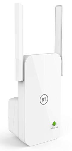 BT Essentials Wi-Fi Extender 300 with N300 Wi-Fi