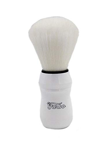 FURBO - Das PENNELLO - WHITE SYNT - Shaving Brush 26mm
