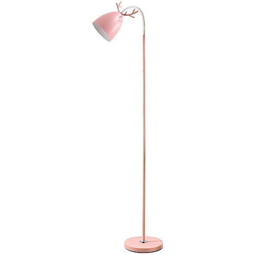 Lámpara de pie Moderna para Sala de Estar, lámpara de pie de Metal con Control Remoto, lámpara de pie de Cuello de Cisne Flexible para Dormitorio, Oficina, lámpara de pie de Lectura, E27, 7 W, Verde