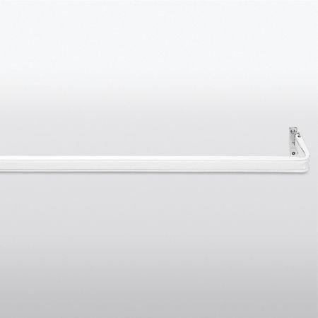 Kirsch - Barra de cortina estándar ajustable de 167,6 a 350 cm