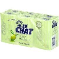 Le Chat Savon de Marseille Huile Olive 6x100g