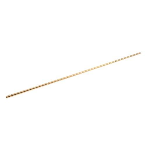 Milageto 50cm X Messing Rundstab Rod Dia. 4mm 5mm 6mm 7mm 8mm für - Bronze 7mm