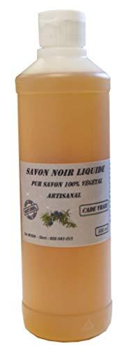 Savon noir Artisanal Naturel 4 parfums aux choix (Huile de Cade, 1 litre)