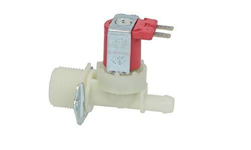 Electroválvula 12 V. Carga agua lavadora 1 vía 180° universal ø salida 12