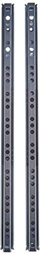 Metafranc Kugelpräzisionsteilauszug - 310 mm Länge - 17 mm Nut - 10 kg Tragkraft - Leichtes Laufverhalten - Mit Auszugsanschlag/Rollenauszug/Schubladenauszug/Schubladenschienen/380909