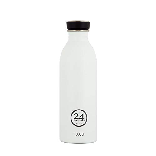 24Bottles - Urban, Unisex Erwachsene, Ice White, 500 ml