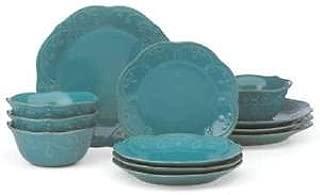 Lenox French Perle Peacock 12-piece Dinnerware Set