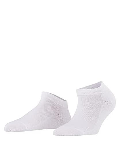 FALKE Damen Sneakersocken Family, Baumwolle, 1 Paar, Weiß (White 2009), 39-42 (UK 5.5-8 Ι US 8-10.5)