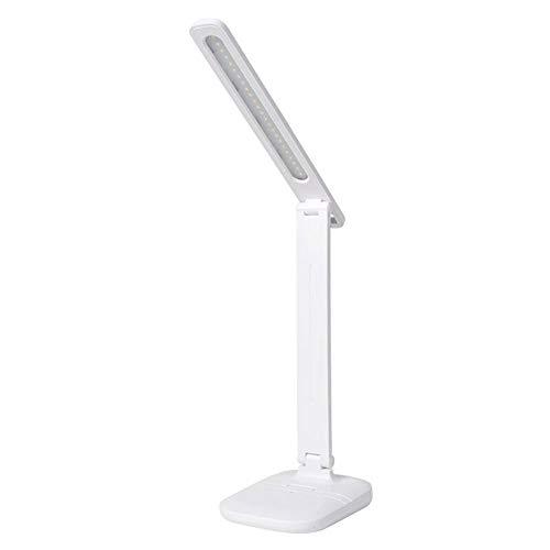 Lámpara de escritorio 7 W 24 cuentas LED lámparas de escritorio de negocios oficina luz de atenuación táctil protección ojos lámpara de mesa plegable USB Powered escritorio luz