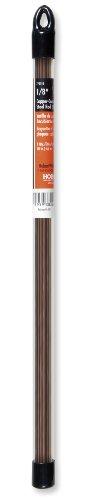 Hobart 770513 Mild Steel Copper-Coated Oxy-Acetylene Welding Rod, 1/8-by-18-Inch