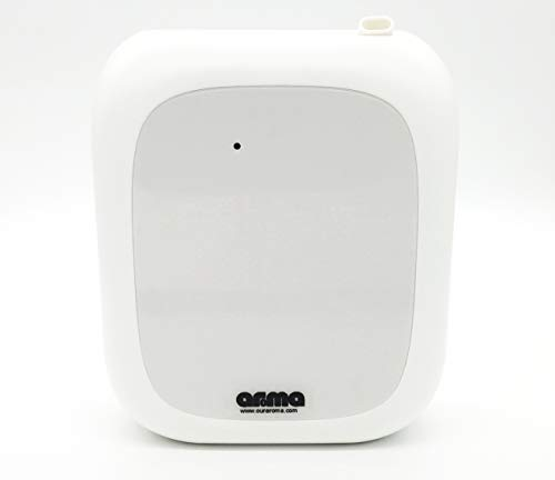 Our Aroma Aromatherapy Diffuser - Professional Grade Nebulizing Diffuser for Essential Oils, Cold Air Diffusion Technology, No Water, No Heat, Super Quiet, Portable, Battery Powered