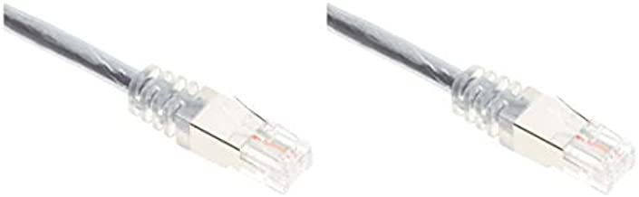 C2G RJ11 Modem Cable for DSL Internet - Connects Phone Jack to Broadband DSL Modems for High Speed Data Transfer - 15ft Long with Double-Shielding to Reduce Interference - 28722