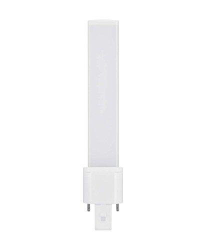 Osram LED-Speziallampen / Röhre, G23, Länge: 166 mm, 4, 50 W, 9-W-Ersatz - für, matt, Warm White, 3000 K, 1er-Pack