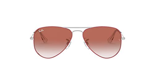 Ray-Ban Unisex kid's 0RJ9506S Sunglasses, Red (Silver On Top Red), 50