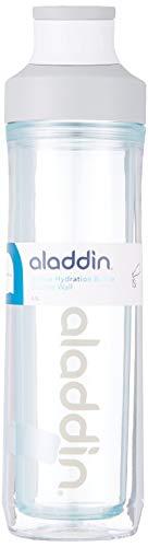 Aladdin Hydration Doppelwandige Trinkflasche, Adultes Hydratation Active Gourde Double paroi, Gris, 0,5 l pour Hommes, 0.5 l