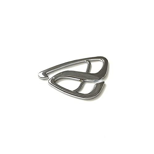 Etiqueta engomada del aspecto 3D del coche 5x 3D Metal Rotary Motor Estándar Símbolo Emblema Coche Tronco Tronco Pegatina de insignia para Mazda M3 M6 Axela ATENZA ACENZA ACCESORIOS Etiqueta engomada