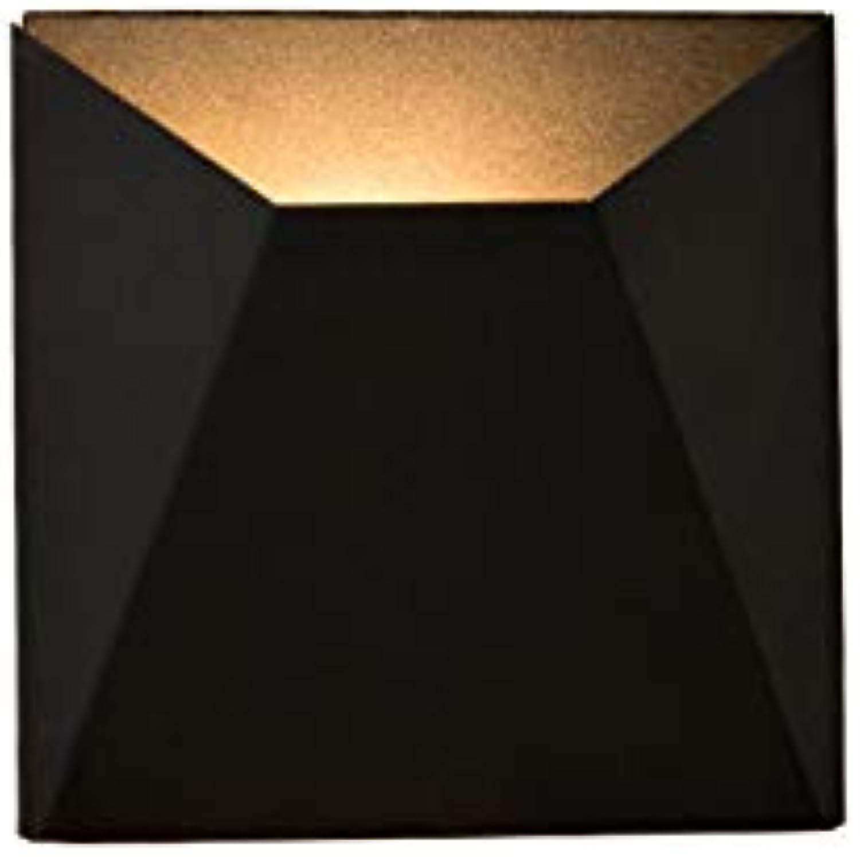 HFE Einfache Led Wandleuchte Nordic Kreative Wohnzimmer Wandleuchte Hotelzimmer Lampe Gangfreie Kombination Geometrische Wandleuchte,schwarz