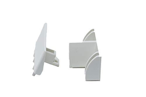 Schüco Einlauftrichter von DIWARO.® | für Kunststoff Rolladen-Führungsschienen | Preis pro Stück | weiß