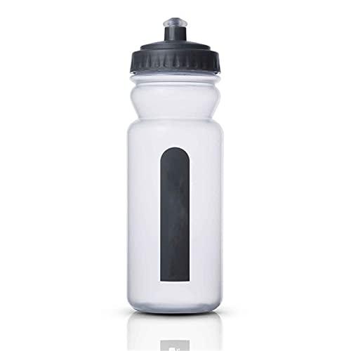 Botella De Agua Deportiva, Maratón Al Aire Libre Ciclismo Deportes Copa De Agua, BPA Fitness Fitness Squeeze Bottle,A,600ML
