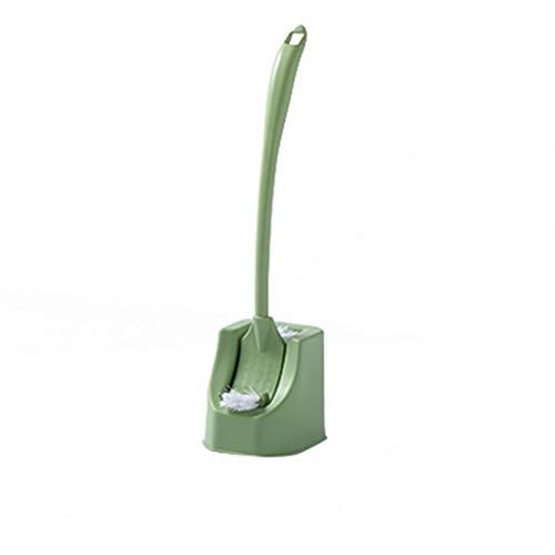 HMBB Los émbolos de Aseo y HoldersBathroom del tocador Cepillo de plástico Sistema de Cepillo-creativos/Normal/n Dead Space/Mango Largo/Pelo Suave/Clean-Escobilla de baño Azul, Rosa, Verde