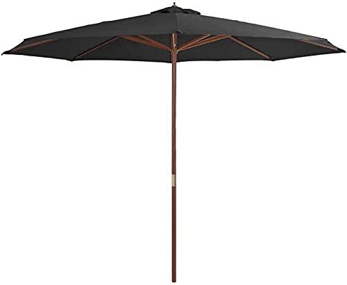 ombrellone da spiaggia in legno Ombrellone Da Spiaggia Ombrelloni da terrazza con protezione UV