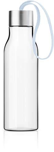 EVA SOLO | Trinkflasche 0.5l | Dänisches Design | BPA-freier Kunststoff, Edelstahl, Silikon, Polyester | Soft Blue