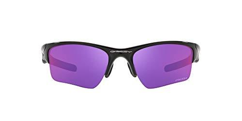 OO9154 Half Jacket 2.0 XL Sunglasses, Polished Black/Prizm Road, 62mm