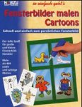 Fensterbilder malen - Cartoons