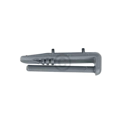 DL-pro Laufschienenanschlag hinten für Beko 1880580400 Whirlpool 481246279981 Endschienenkappen Stopper für Geschirrkorb Geschirrspüler Spülmaschine (2 Stück)