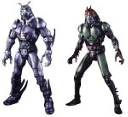 Amazon com: S I C  Vol 17 Shadow Moon & Kamen Rider Black by