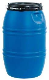 Bidon 220 litros Cierre Ballesta Azul