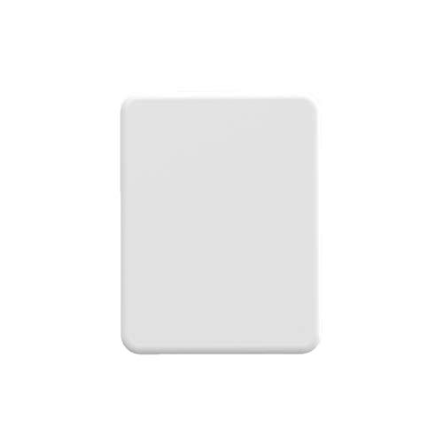 Batería externa inalámbrica magnética de 4225 mAh, cargador rápido de 10 W, batería externa portátil ultrafina, compatible con iPhone 12 Mini Pro (color: blanco)