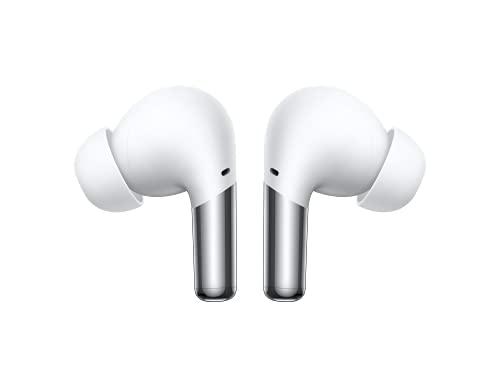 ONEPLUS Buds Pro - Auriculares inalámbricos con hasta 38 Horas de duración de la batería y cancelación de Ruido adaptativa Inteligente - Blanco Brillante