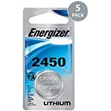 Energizer 5 2450 CR2450 ECR2450 Lithium Batteries