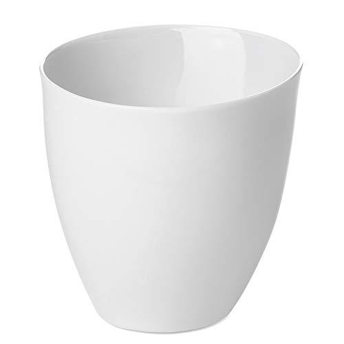 Tasse à Thé Assoiffée Porcelaine Blanc Brillant Diam 8,5 cm